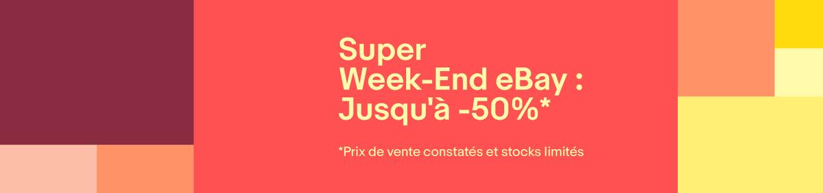 Explorer l'événement Super week-end Jusqu'à 50% de réduction jusqu'au 18 décembre