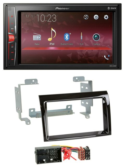 ab 2012 schwarz caraudio24 Kenwood KMM-BT505DAB DAB USB Bluetooth MP3 Autoradio f/ür FIAT Panda