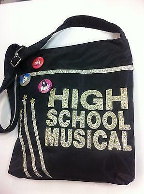 + Higt School Musical Borsa Tracolla Con Stras E Glitter