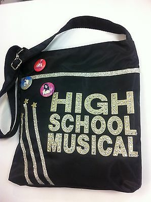 Bello + Higt School Musical Borsa Tracolla Con Stras E Glitter