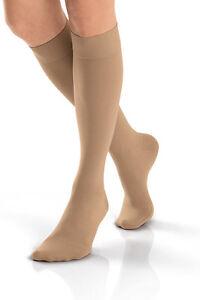 1040bbab3b9 Jobst Women s Opaque Closed Toe Knee High Compression 15-20 mmHg ...