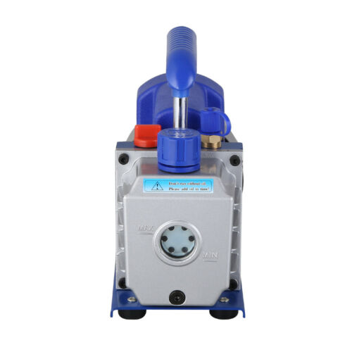 1//4HP 2.5CFM Industrial Single Stage Vacuum Pump 1440r//min 5Pa Vacuum Packing UK