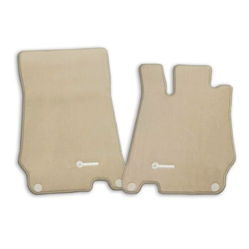 Genuine Front Carpeted Stone Floor Mats Set For Mercedes R230 SL-Class 2003-2012