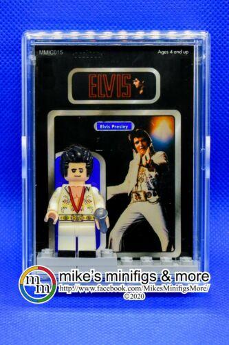 ELVIS PRESLEY Custom Carded Minifigure Display Mini-Figure