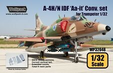 Wolfpack 1:32 A-4H IDF Ahit Conversion Set for Trumpeter Kit - Resin #WP32048