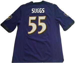 Reebok On Field NFL Baltimore Ravens Terrell Suggs Jersey (Men's ...