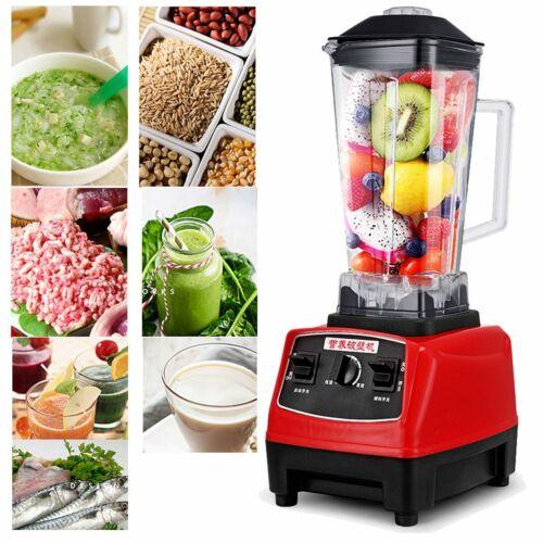 Food Blender Mixer Smoothie Heavy Duty Commercial Milkshake Soup Maker Juicer