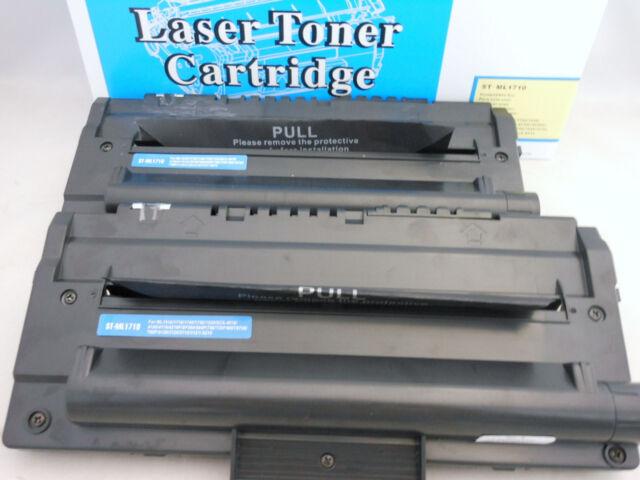 2PK ML1710d3 Toner Cartridge for Samsung ML1510 ML1520 ML1740 ML1750 ML1755