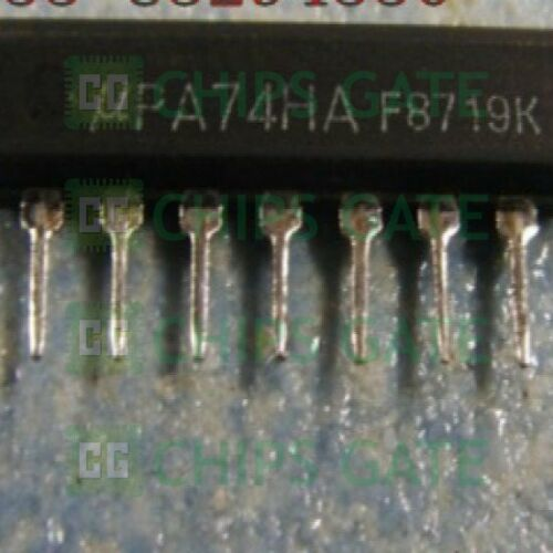8PCS UPA74HA Encapsulation:SIP-7,mA NPN 2 CHANNEL Si SMALL SIGNAL 80 V