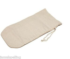 Natural-Canvas-039-LEWIS-039-ICE-CRUSHING-BAG-for-cocktail-geeks-FREE-US-SHIP