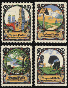 1910s Kranseder & Cie- Munchen set 4 - Suchdolski artist nDxDC4ZE-07133849-957684534