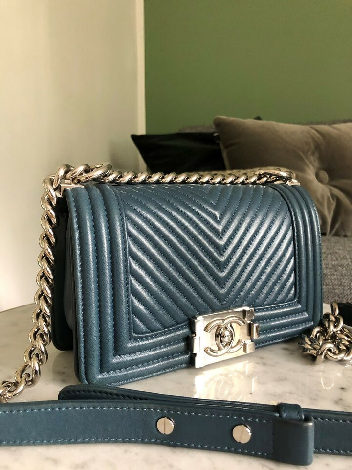 Crossbody, Chanel, læder