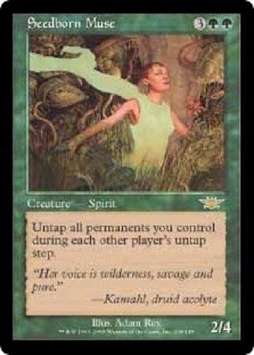 Exc Muse née des Graines Seedborn Muse- Magic mtg Legions