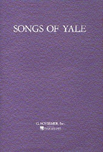 Songs Of Yale TTBB Sheet Music Vocal Score