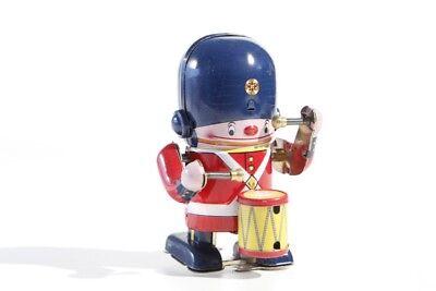 Brillant Blechspielzeug Soldat Mit Trommel Aufzugsmodell °° Tin Toy °° Jouet En Tôle GüNstige VerkäUfe Figuren