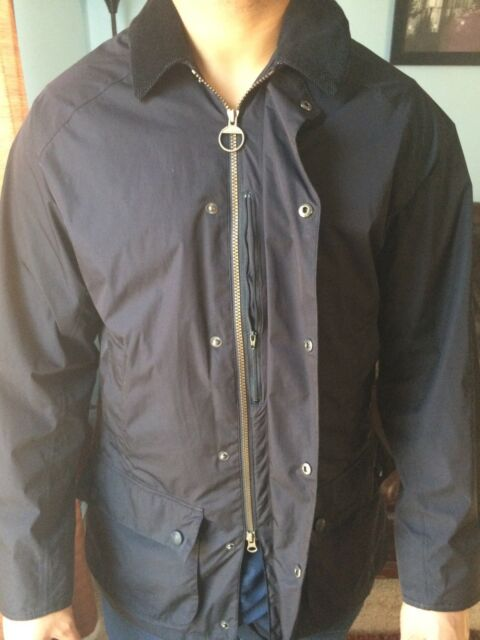 BARBOUR FEATHERWEIGHT CONTEMPORARY BEAUFORT BLACK WATERPROOF AND BREATHABLE