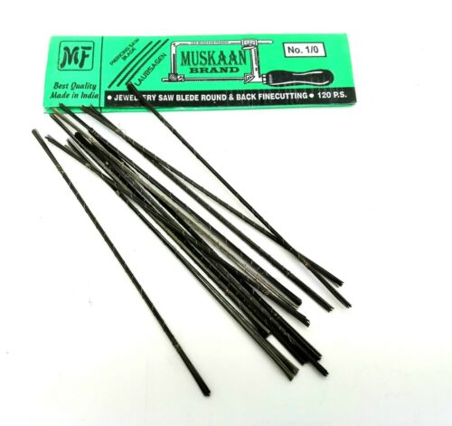 Jeweller/'s Saw Blades 120 Blade Packs For Piercing,modelcra and Fret Saw Frames