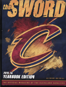 2462796a887 Image is loading CLEVELAND-CAVALIERS-2015-16-THE-SWORD-YEARBOOK-PROGRAM-