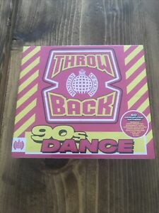 Ministry Of Sound Throw Back 90s Dance CD - NEW sealed