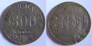 300 Pf. O. Year Colonies: German South West Africa Dswa Port Hotel Swakopmund