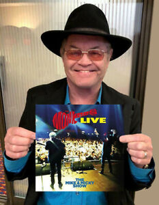 MICKY DOLENZ DIRECT! THE MONKEES MIKE & MICKY SHOW LIVE VINYL LP SIGNED!!