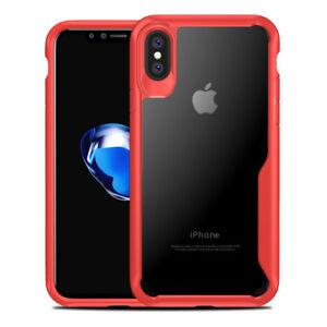 Coque-Housse-Etui-Rigide-Silicone-Armor-Anti-choc-Pour-iPhone-X-6-6S-Plus-7-8