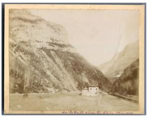France-Chasseurs-Alpins-Sur-la-route-apres-les-Eaux-Chaudes-Vintage-citrate-p