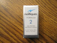 Nailtiques Formula 2 Nail Protein For Soft Peeling Weak Nails 1/4 Oz 7 Ml 0.25