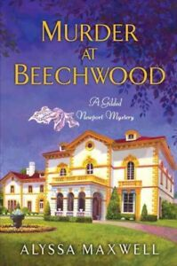 Murder-at-Beechwood-Paperback-by-Maxwell-Alyssa-Like-New-Used-Free-shippi
