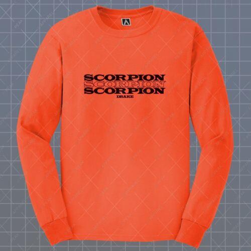 God Plan Long Sleeve T-shirt Scorpion Drake Tee Assassination Views Feelings Top