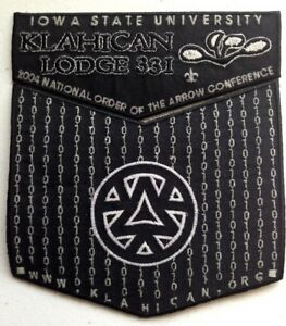 KLAHICAN-OA-LODGE-2015-CAPE-FEAR-AREA-331-2004-NOAC-MATRIX-2-PATCH-FLAP-GLOWS
