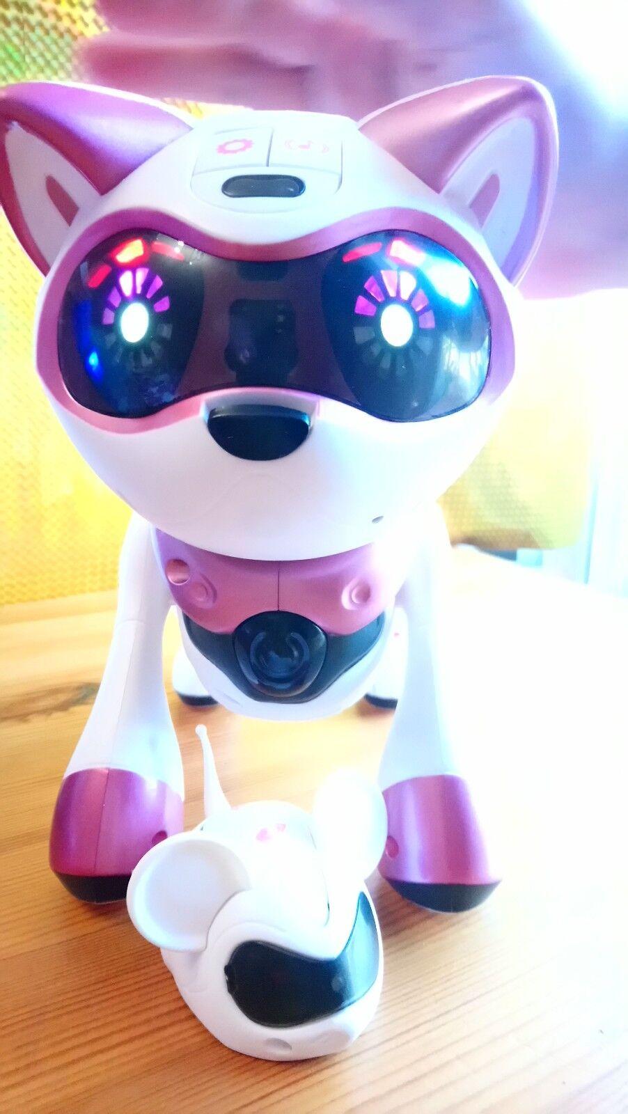 Gato Robot Teksta 4G Robot Kitty Chaton Robotique Niños +5 años incluye ratón