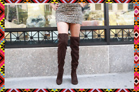 Chinese Laundry Bachelorette Over The Knee Boots Size Chocolate Side Size 9