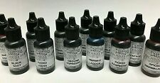 Distress Archival Reinker .5oz Refill Ink for Stamp Pads Select from 12 colors