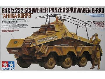Tamiya 1 35 Sd Kfz 232 Schwerer Panzerspahwagen