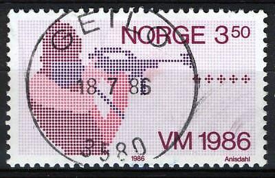 Glorious Norway 1986 bu Nk 989 Son Superb 3580 Geilo 18-7-86 Elegant In Smell
