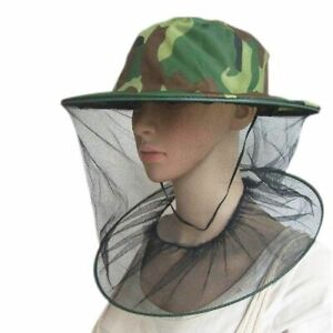 Travel Camping Kits Hats Mosquito Insect Hat Bug Mesh Head Net Face Protector