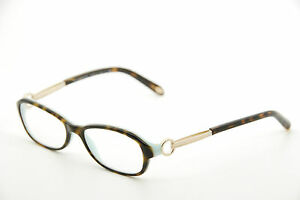 a564e3ee7df New Authentic Tiffany   Co. TF2066 8134 Havana Gold 50mm Eyeglasses ...