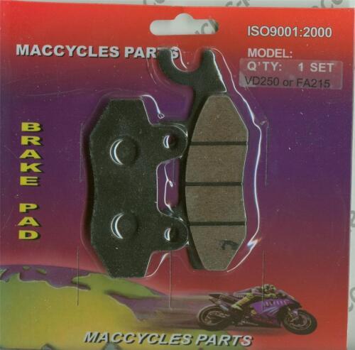 Kymco Disc Brake Pads People 250 2003-2007 Rear 1 set