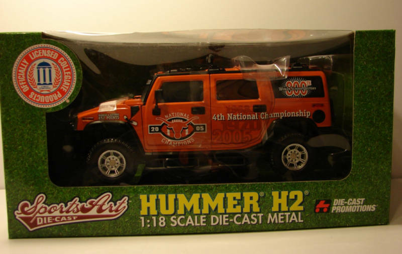 classico senza tempo 1 1 1 18 Hwy 61 Hummer H2 GM Texas University of Texas Bevo arancia Mint In scatola  negozio online outlet