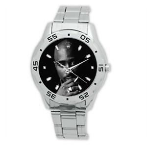 2Pac-Tupac-Shakur-Stainless-Steel-Wrist-Watch-American-Rapper-Legend-Smoking
