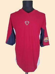Esquivo locutor Silenciosamente  Vintage FC Barcelona Nike Rare Football Training Shirt Camiseta Soccer  SizeXL | eBay