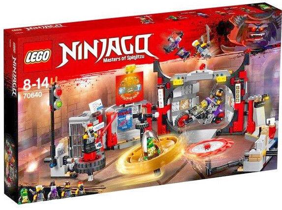 LEGO 70640 - Ninjago S.O.G. Headquarters - 530 Pieces