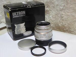 Voigtlander-Ultron-35mm-f1-7-Aspherical-Vintage-Line-Silver-Leica-M-Mount