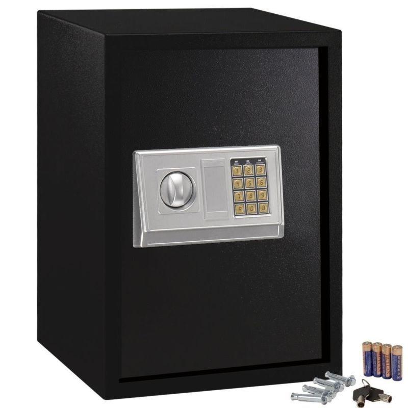 Teclado De Seguridad Cerradura Electrónica Segura Acero Caja Para Hogar Oficina Sentry