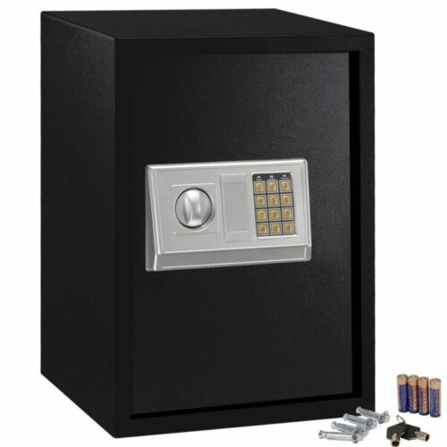 Steel Safe Electronic Lock Keypad Security Box For Home Office Sentry