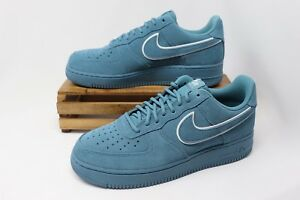 3fc77c56a725 Nike Air Force 1  07 LV8 Suede Casual Shoes Noise Aqua AA1117-400 ...