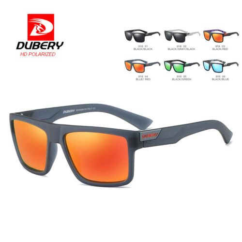 DUBERY Mens Vintage Polarized Sunglasses Driving Fishing Eyewear Travel Shades