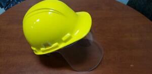 Visière casque de construction Polycarbonate incassable fabriqué Québec Drummondville Centre-du-Québec Preview