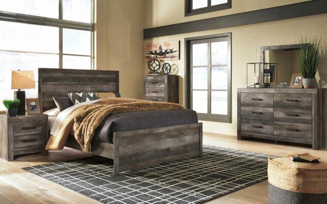 Serena Contemporary King 5 Piece Bedroom Furniture Set W